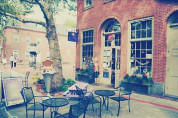 唯美:街角的咖啡馆 – 拿铁咖啡_小清新~记录温暖