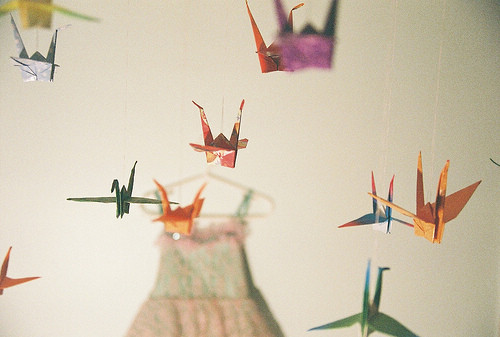 治愈系:梦中的千纸鹤