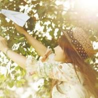 治愈系:折一只纸飞机