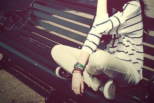意境唯美:长椅的故事