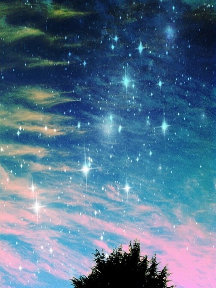 唯美治愈:美丽星空