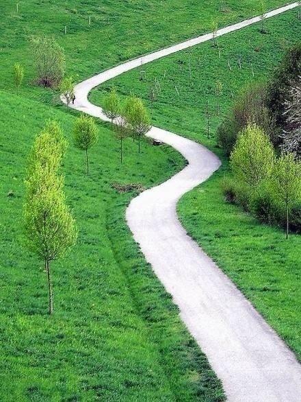 唯美图片:路,不通时,选择拐弯